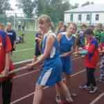 спартакиада среди команд летних лагерей